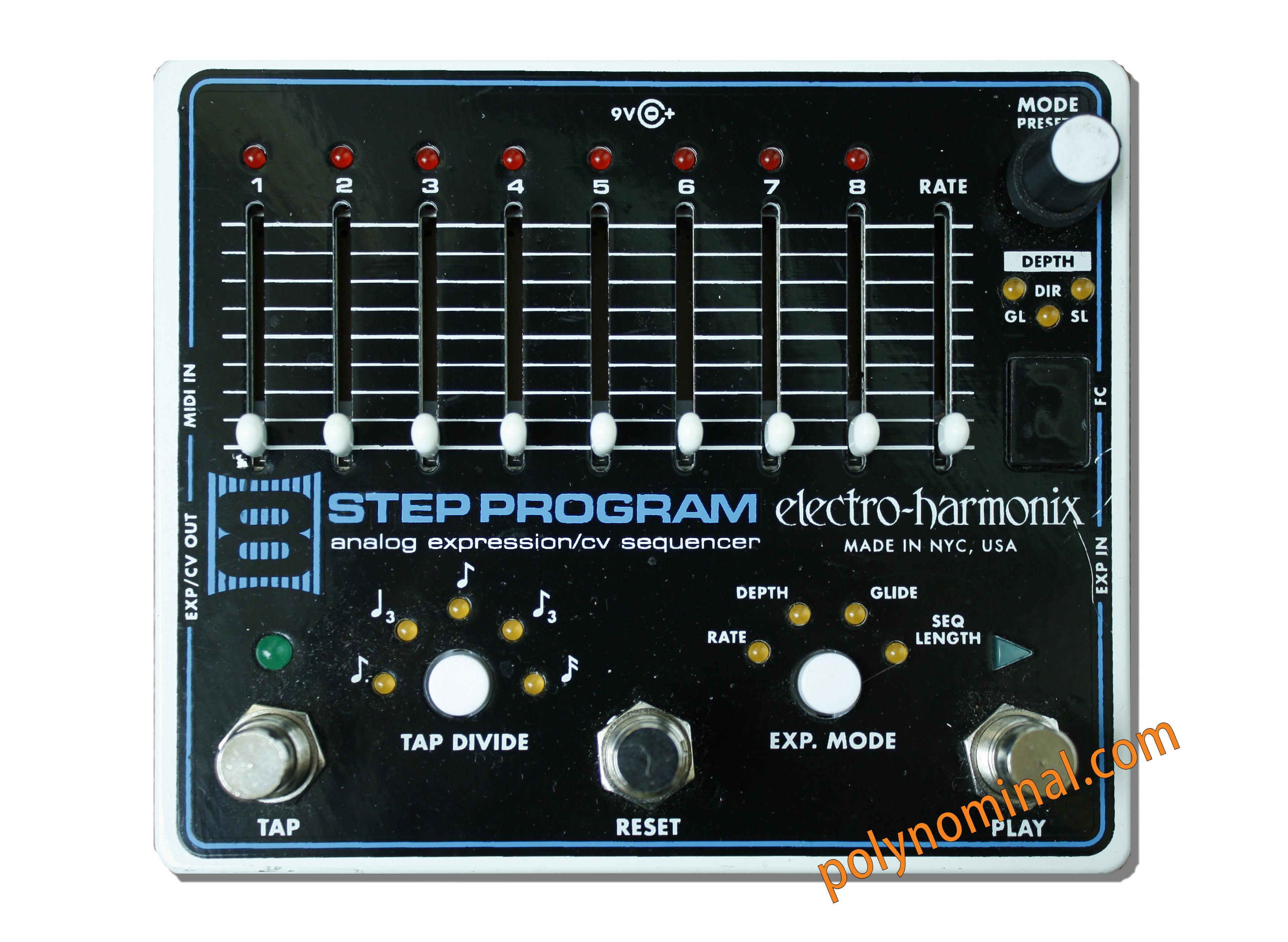 8 Step Program Analog Expression / CV ... - Electro-Harmonix