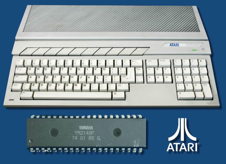 Atari ST YM2149F chip