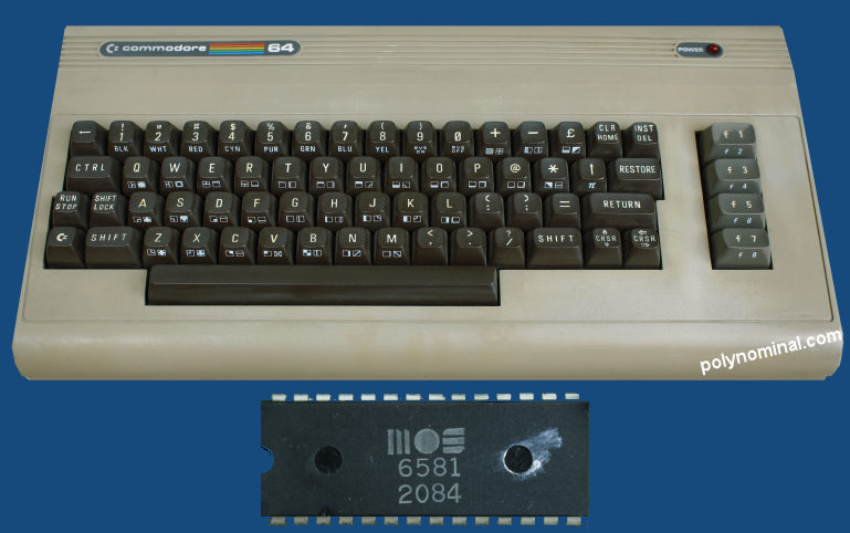 Commodore 64 SID chip