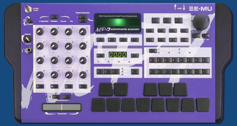 Emu E-mu Command Station Encoder MP-7 PX-7 XL-7