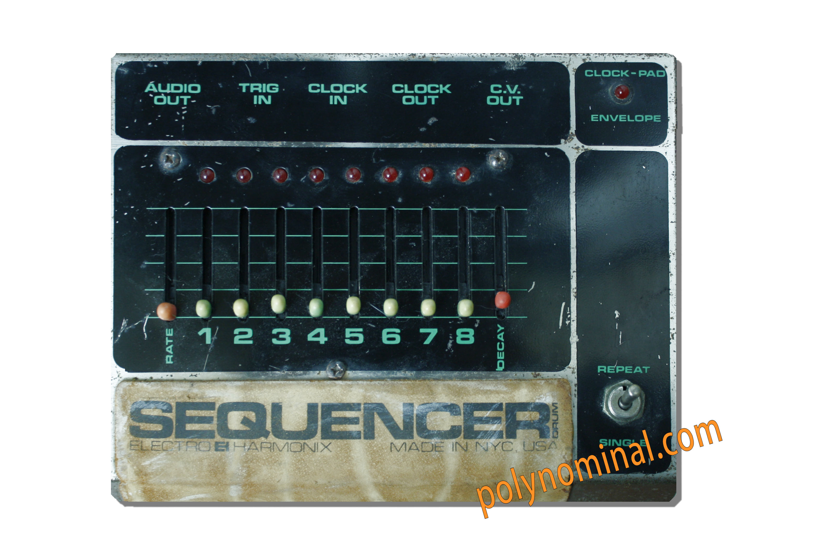 electro harmonix drum sequencer