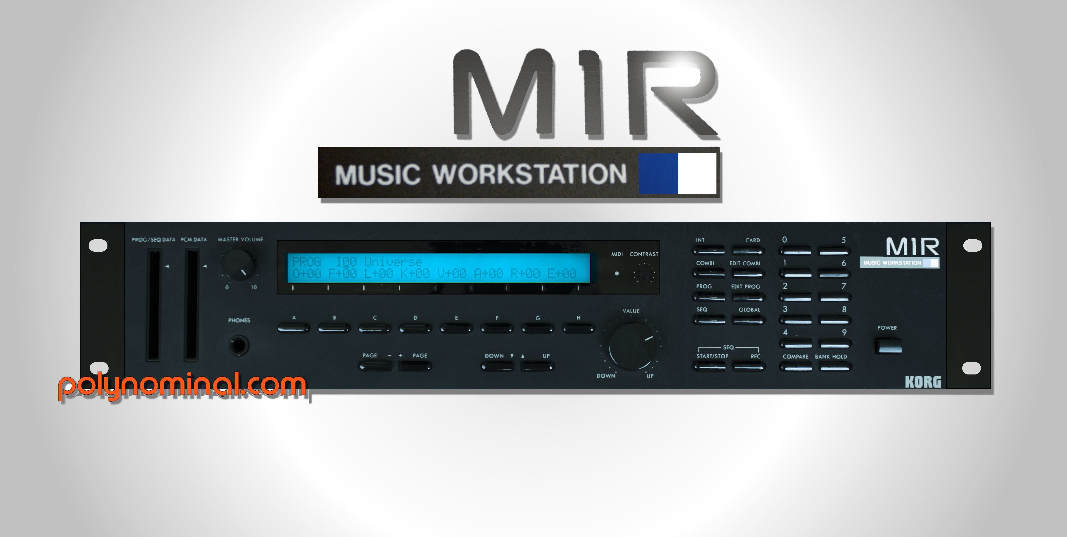 korg M1R Module Music Workstation