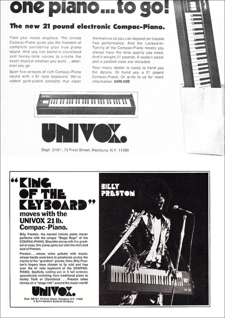 UNIVOX compac2 piano