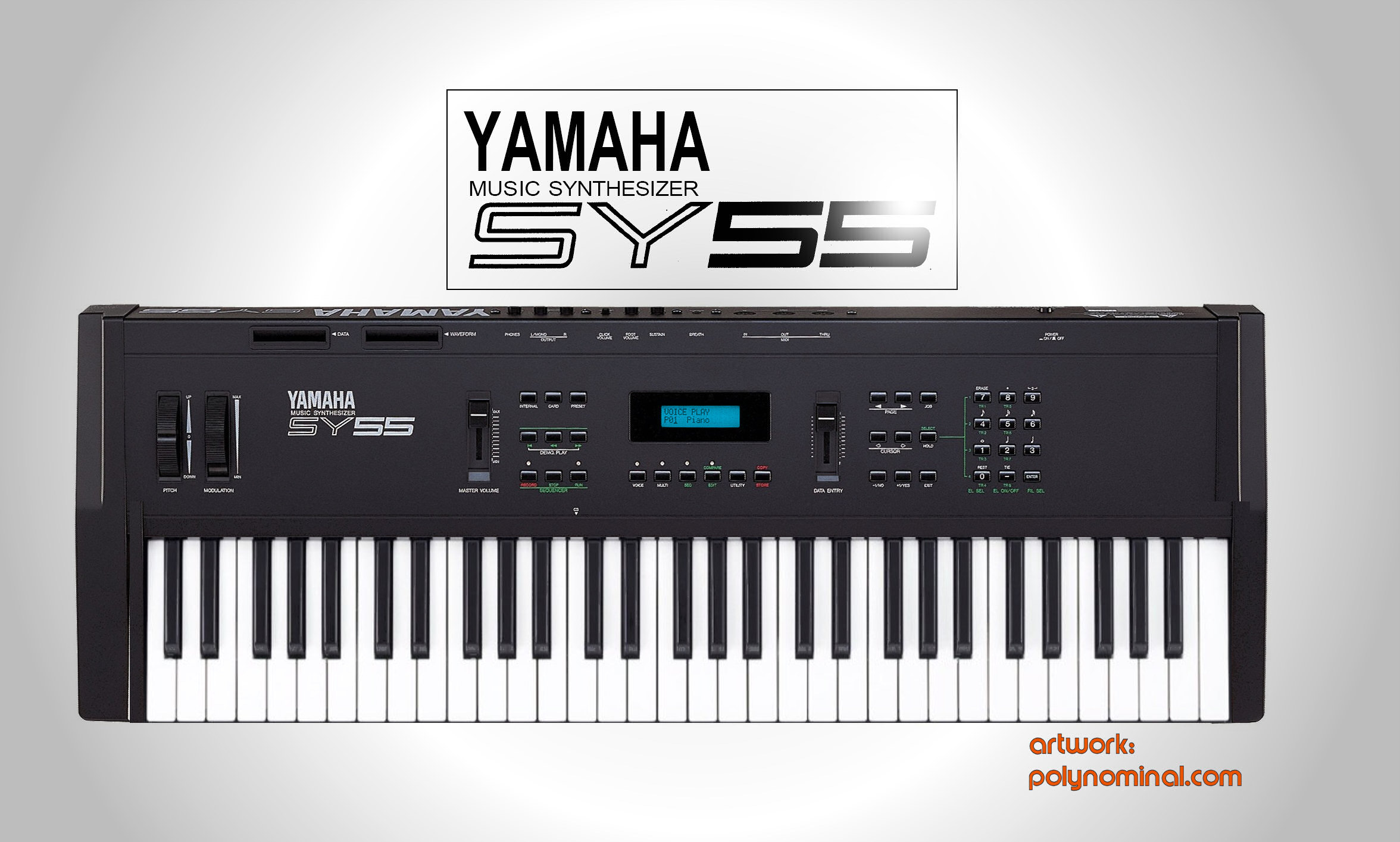 Yamaha sy 55 for Yamaha 3 octave keyboard