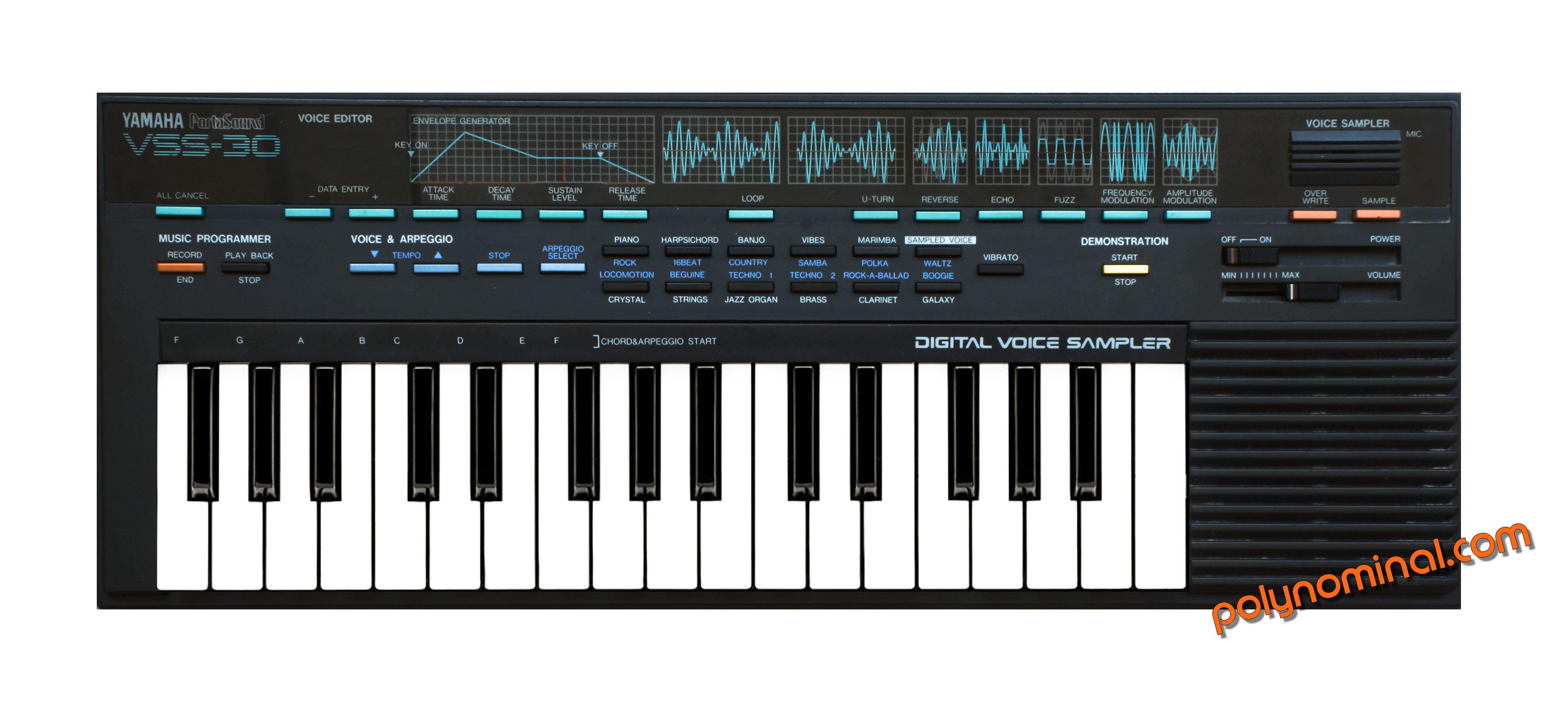 yamaha vss 30 rh polynominal com Yamaha Keyboard Sample Yamaha X4500